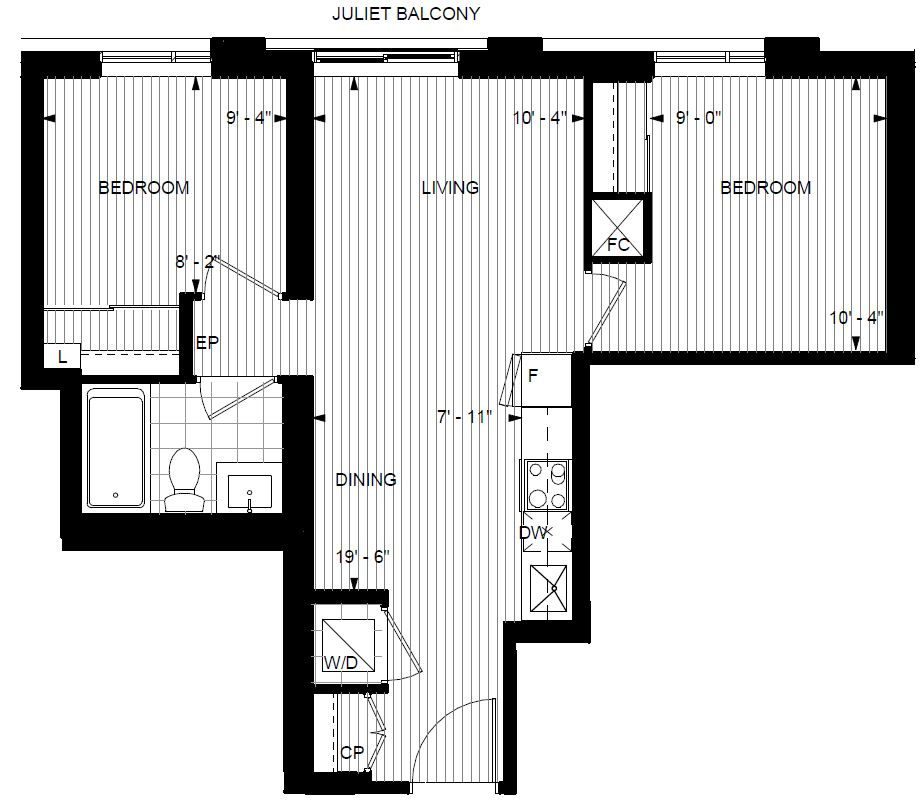 Two Bedroom Condos For Rent: 2 Bedroom NEW Condo For Rent In Islington Terrace In