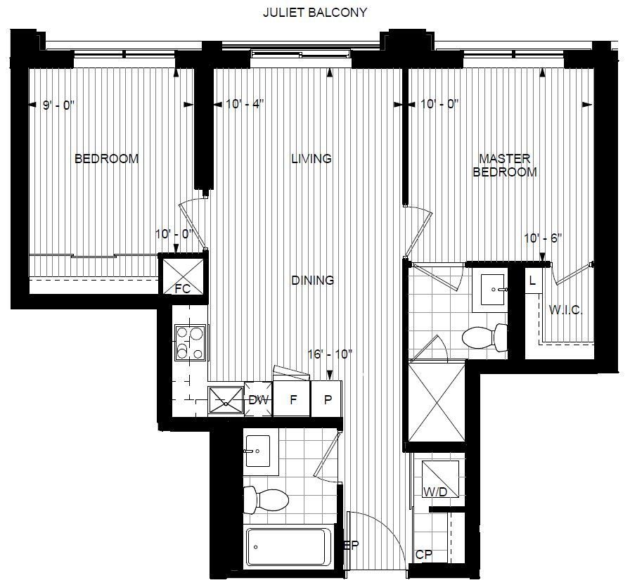 Two Bedroom Condos For Rent: 2 Bedroom BRAND NEW Condo For Rent In Islington Terrace In