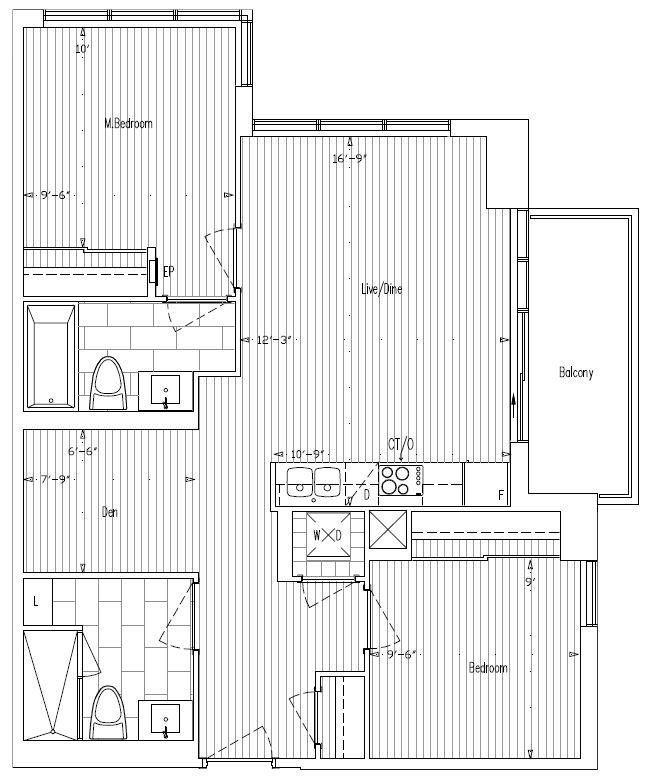 2 Bdrm Condos For Rent: 2 Bedroom + Den, 2 Bath Condo For Rent In Avani II